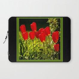 tulip impressions (square) Laptop Sleeve