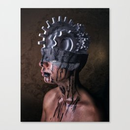 Mechanical Thoughts Canvas Print