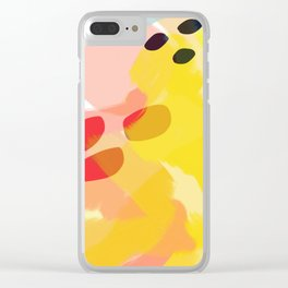 Bathing in Sunshine Clear iPhone Case