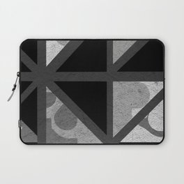 Cotton Textured Geometrical Abstract Design Laptop Sleeve