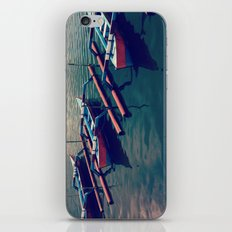 Little Boats iPhone & iPod Skin