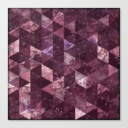 Abstract Geometric Background #24 Canvas Print