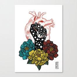 Lucha Canvas Print
