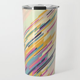 Retro Lines Travel Mug