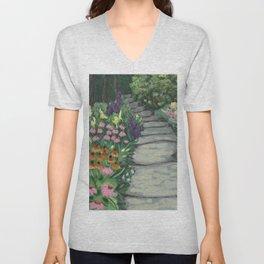Garden Path Unisex V-Neck