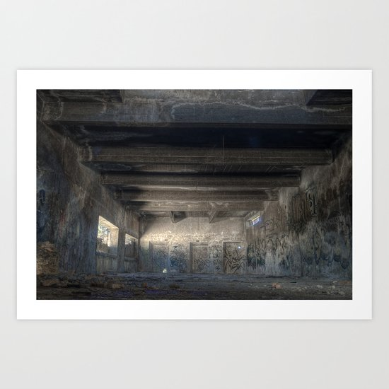 The Old Factory Art Print
