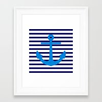sail Framed Art Prints featuring Sail by M Studio