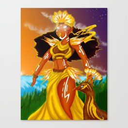 Oshun Canvas Print