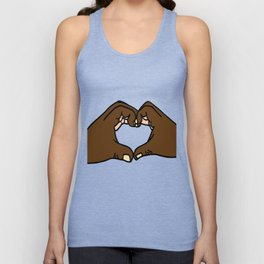 Heart Hands Unisex Tank Top