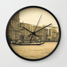 Venice, Grand Canal 5 Wall Clock