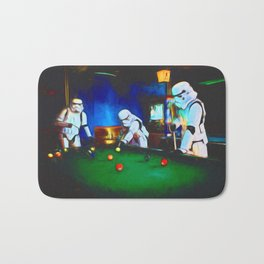 Stormtroopers On Break Bath Mat