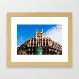 Eixample - Barcelona, Spain - #9 Framed Art Print