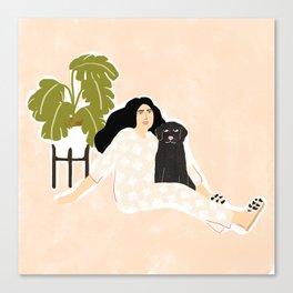 Best friendship story Canvas Print