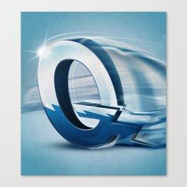 Superbet 'Q' Canvas Print