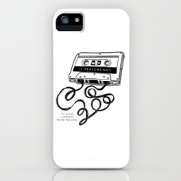13 Reasons Why iPhone Case
