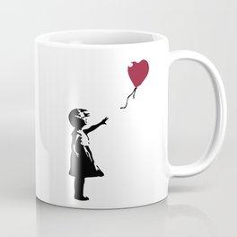 Girl With Red Balloon, Banksy, Streetart Street Art, Grafitti, Artwork, Design For Men, Women, Kids Coffee Mug