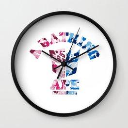 Bape  Transformers Wall Clock