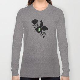 Indiana - State Papercut Print Long Sleeve T-shirt