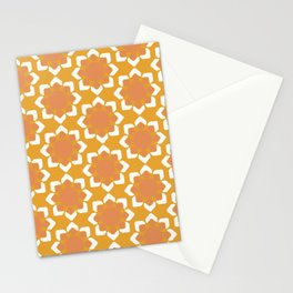 Geometric Fall Collection Stationery Cards