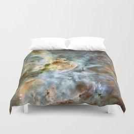 Space nebula Duvet Cover