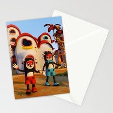 Goodbye Matatoon town Stationery Cards