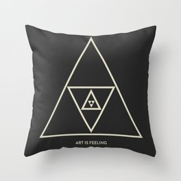 ReyStudios Monochromatic 4 Throw Pillow