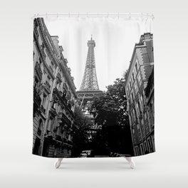 Paris III Shower Curtain