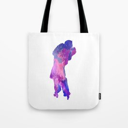 The Galactic Kiss Tote Bag