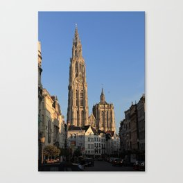 Our Lady Cathedral - Antwerp Canvas Print