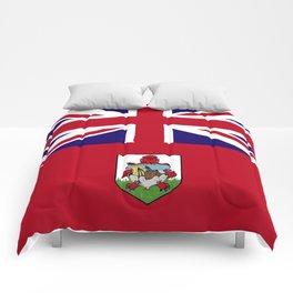 Bermuda flag emblem Comforters
