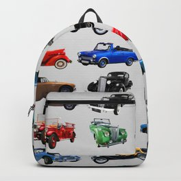 Vintage Cars Backpack
