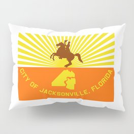 flag of Jacksonville Pillow Sham