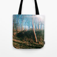 trippy Tote Bags featuring trippy by ghostchesters