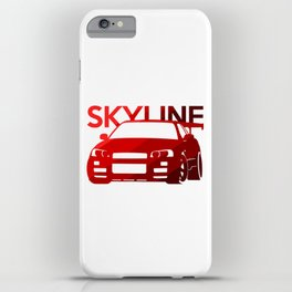 Nissan Skyline GT-R  - classic red - iPhone Case