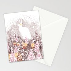 Bunny Village Stationery Cards