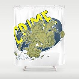 Junk-life Shower Curtain