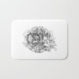 Disorderton (3D papercut) Bath Mat