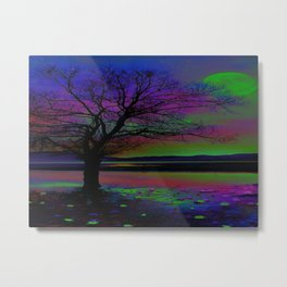 Magical Night Time Metal Print