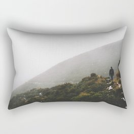 Misty Taranaki Rectangular Pillow