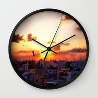 Beautiful Concrete Wall Clock