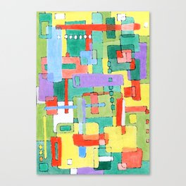 Cocktails in the City Canvas Print