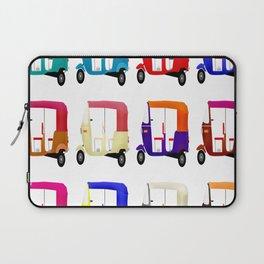 pedicab motorella Laptop Sleeve