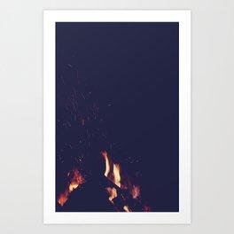 FIRE 3 Art Print