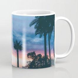Faded Tropical Sunset (Color) Coffee Mug