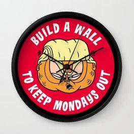 Build A Wall Wall Clock