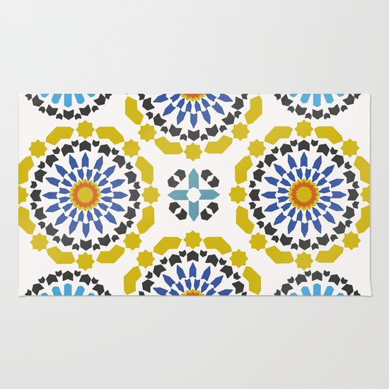 Moroccan Pattern Rug