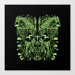 Mask (Shield) Canvas Print