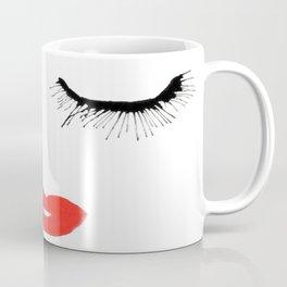 Lashes & Lips Coffee Mug