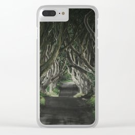 The Dark Hedges II Clear iPhone Case