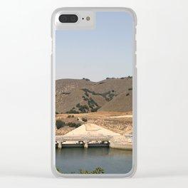 Bradbury Dam Clear iPhone Case
